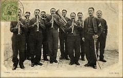 musique militaire du Bey de Tunis en 1905