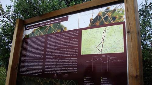 Panel Informativo Ruta Hoyo de la Cuna-Castillo de Gigonza