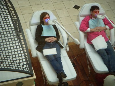 Teeth Whitening in the Mall
