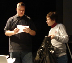 Kevin and Elaine give away a ton of stuff