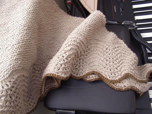 little garter shale shawl