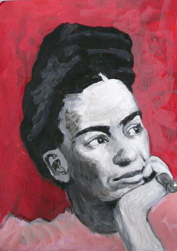 a portrait of kahlo