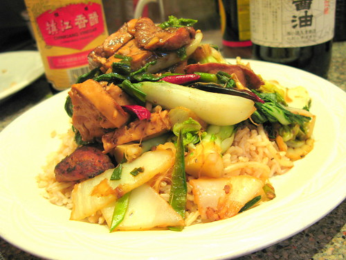 Charlie Deal's Jujube Kung Pao Chicken by you.