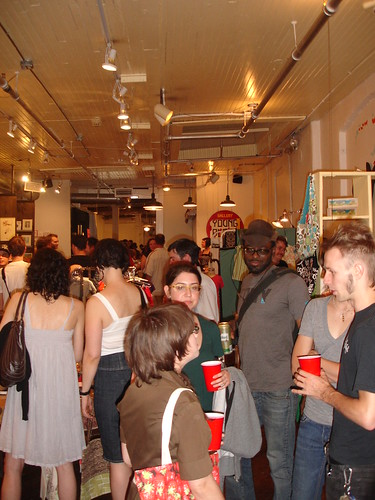 Young Blood Gallery & Boutique Re-Opening Party