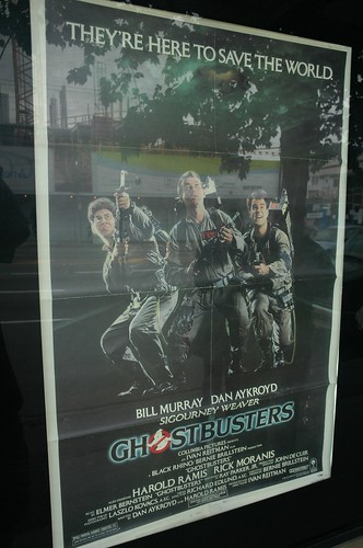 Yes, we had the original movie poster in the poster frame because we are HARDCORE