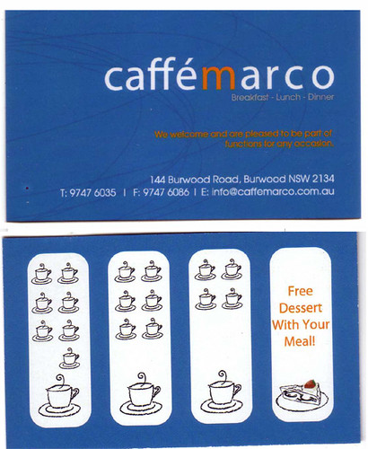 caffe marco