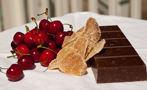 Cherries Ginger Chocolate