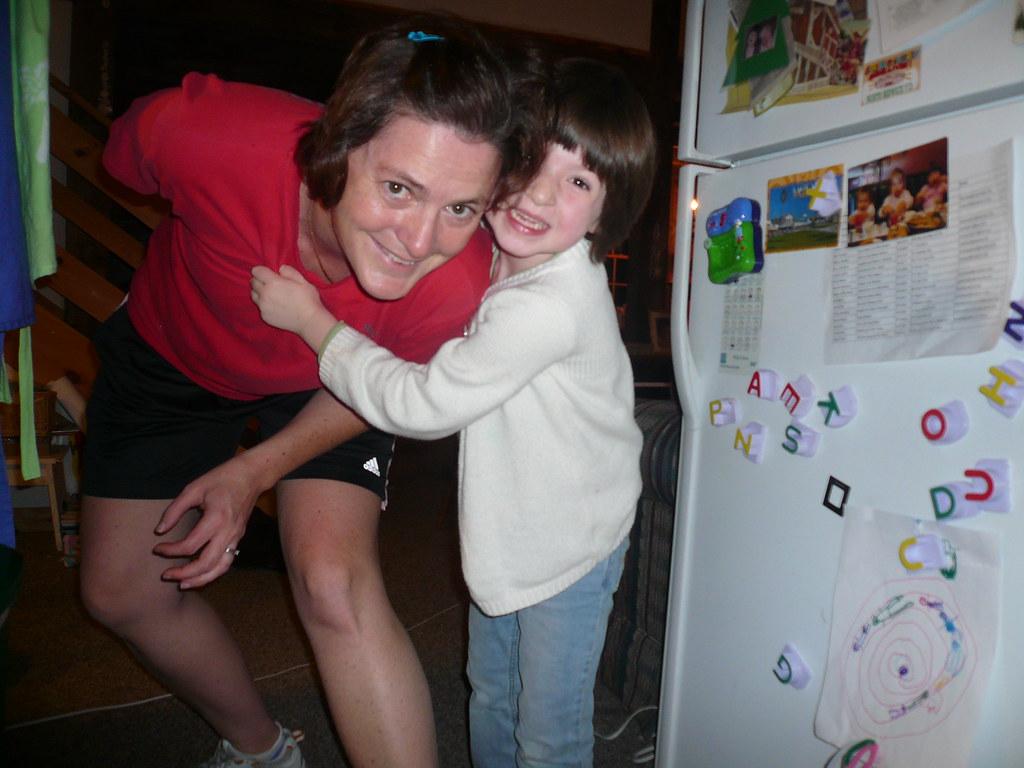 mom and ella