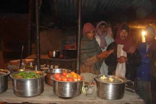 Jaipur路上1-74路邊賣茶