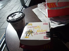 McD - Nice morning