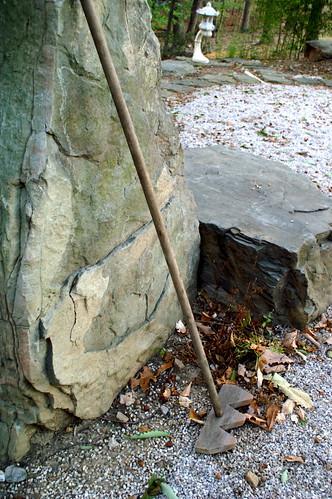 rock garden rake