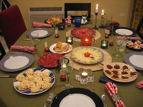 Spanish tapas on Christmas day