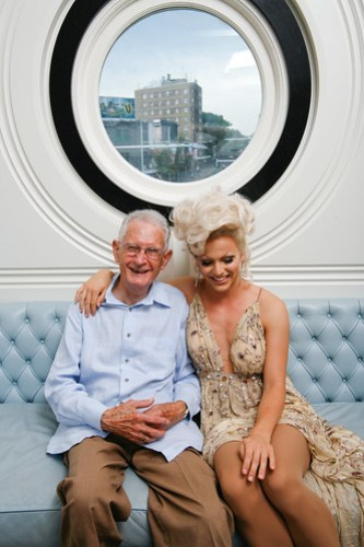 Ron Austin and Courtney Act