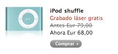 iPod Shuffle Verde