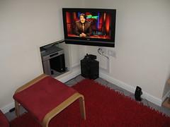 Tidy TV setup