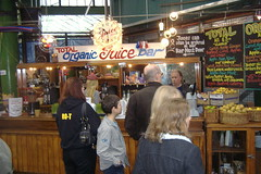 Organic Juice Bar at the Borough Markets