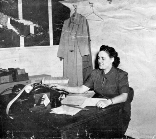 Mom at work 1950s
