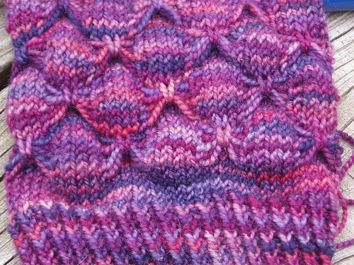 Flutter-By sock for Maggie