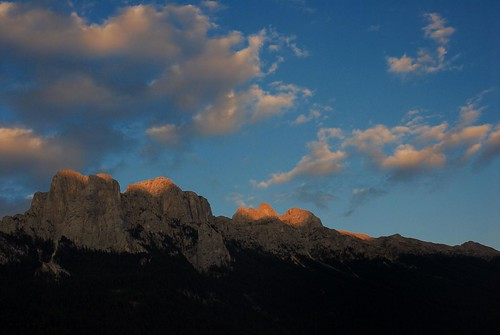 Vista da Vigo di Fassa