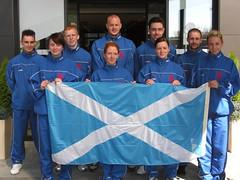 Scotland Team in Zurich