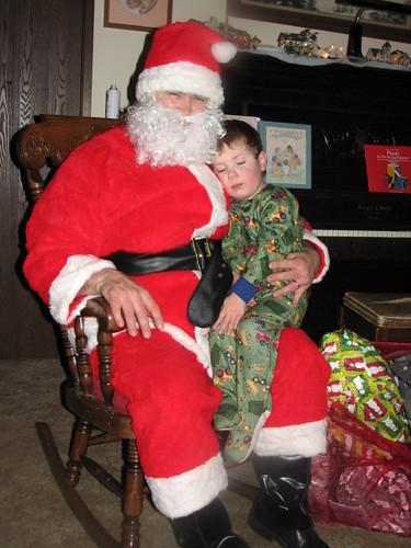 Sleepy Jacob & Santa
