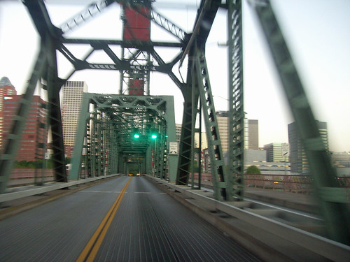 Westbound Over Hawthorne Bridge