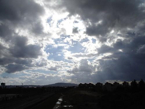 el cielo abierto
