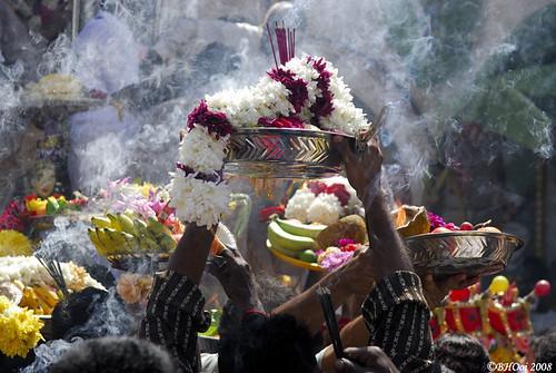 devotees offerings