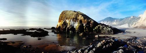 Rock cave remnants