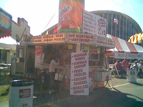 Mmmm... buffalo sauce....