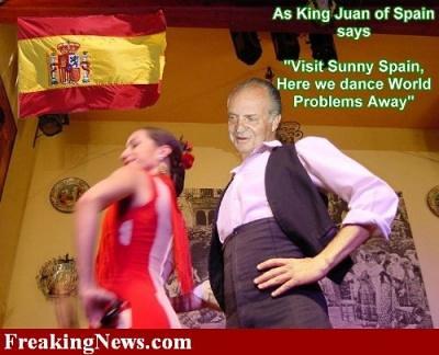 El Borbón Bailón. El rey del Sainete. Risa y Fiesta a gogó. Un rey muuuu republicano height=