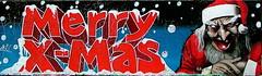 Merry Christmas graffiti