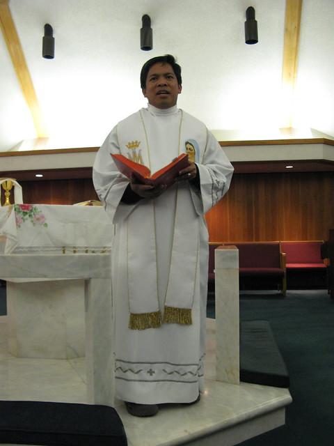 Fr. Fernando Suarez in Houston