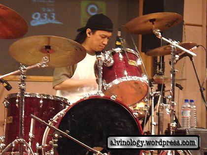 Free night - drummer