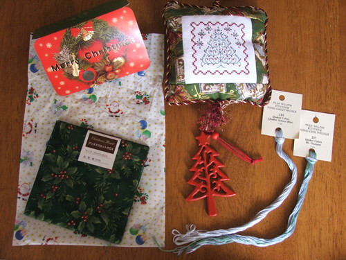 The wonderful package from Chizue
