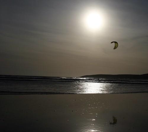 Inchydoney Kite Surfer