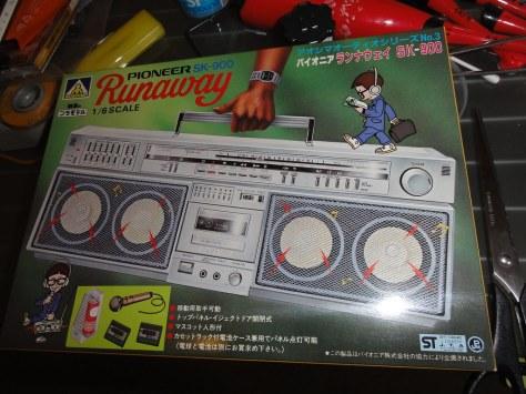 アオシマ 1/6スケール オーディオシリーズ Pioneer runaway SK-900