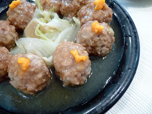 Braised Shanghai style meatball