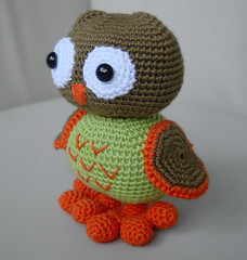 Amigurumi Mama Owl by Pepika