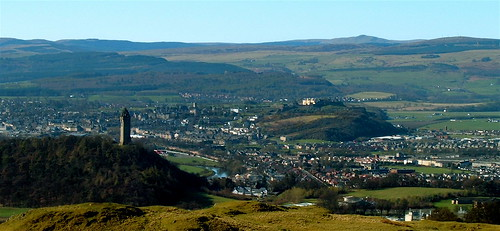 Wallace Monument From Dumyat