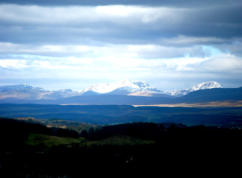 Ben Ledi in the Distance