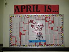 April is...