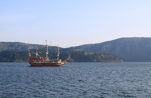 Pirate Ship on Lake Ashi