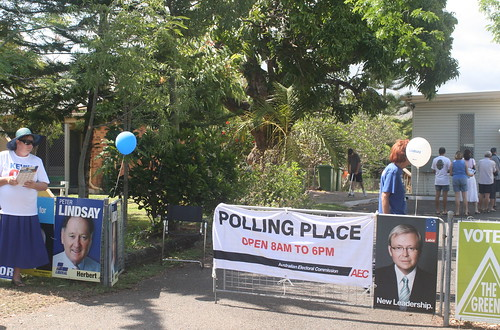 Polling place - Townsville
