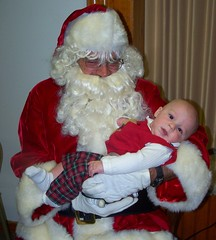First Santa pic