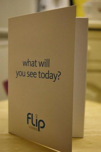 Flip inner box