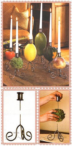 Build your own candleholder