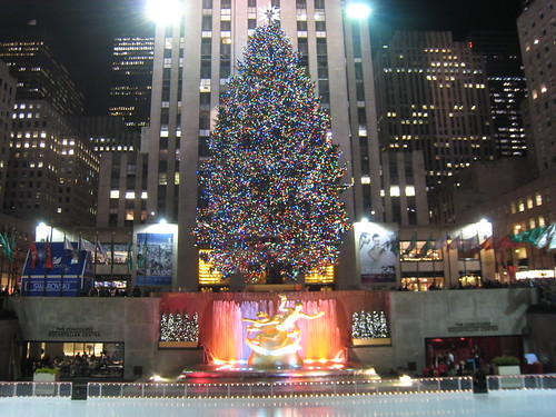 Rockefeller Center Christmas Tree 018 by ShamrockTattoo.