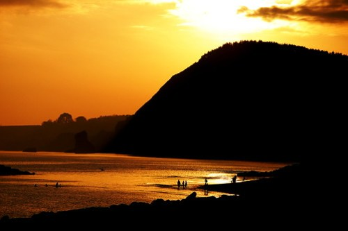 Sunset at Sidmouth