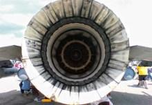 F-16 turbine
